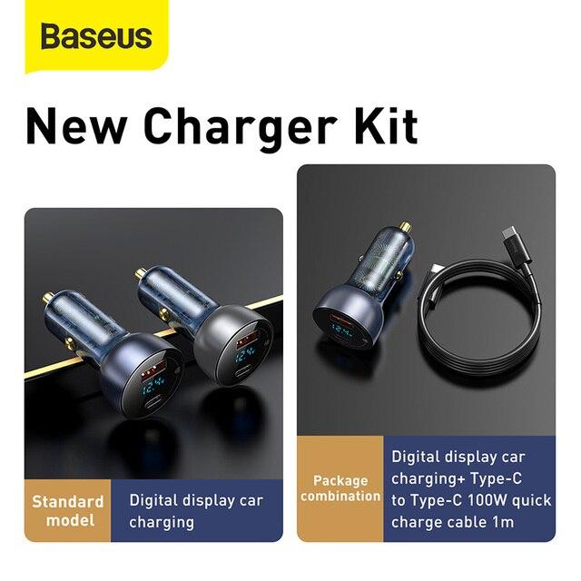 Baseus 65W Car Charger Car Accessories Unisex 1ef722433d607dd9d2b8b7: China|Poland|Russian Federation|Spain