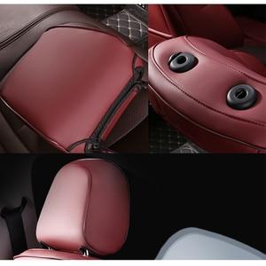 Image 4 - Kokololee Customหนังรถยนต์สำหรับAUDI A4 A3 A6 Q3 Q5 Q7 A1 A5 A7 A8 TT R8รถยนต์ที่นั่งครอบคลุมรถที่นั่ง