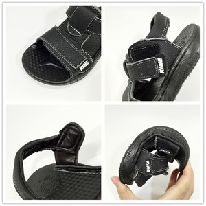 Image 5 - KINE PANDA Boys Sandals Girls Kids Shoes Summer Toddler Baby Boy Girl Genuine Leather Children Sandals 1 2 3 4 5 6 Years Old