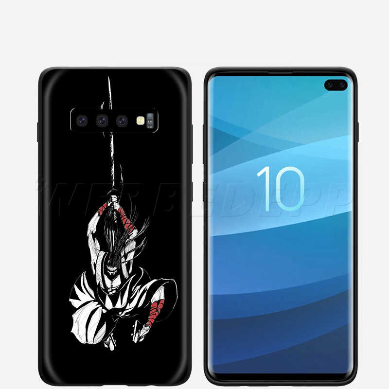 Webbedepp japonya Samurai Ninja samsung kılıfı Galaxy S7 S8 S9 S10 artı kenar not 10 8 9 A10 A20 A30 a40 A50 A60 A70