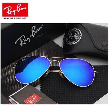 RayBan RB3025 Aviator Men Sunglasses Classic Polarized Sunglasses Men Women Outdoor Driving Pilot Sunglasses 3025 Aviator