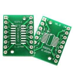 SOP16 SSOP16 TSSOP16 патч отложным воротником прямой разъем Dip 0,65/1,27 мм адаптер пластина