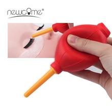 NEWCOME – pompe à Air pour colle à cils, nettoyeur de poussière, 5 couleurs, outils de maquillage