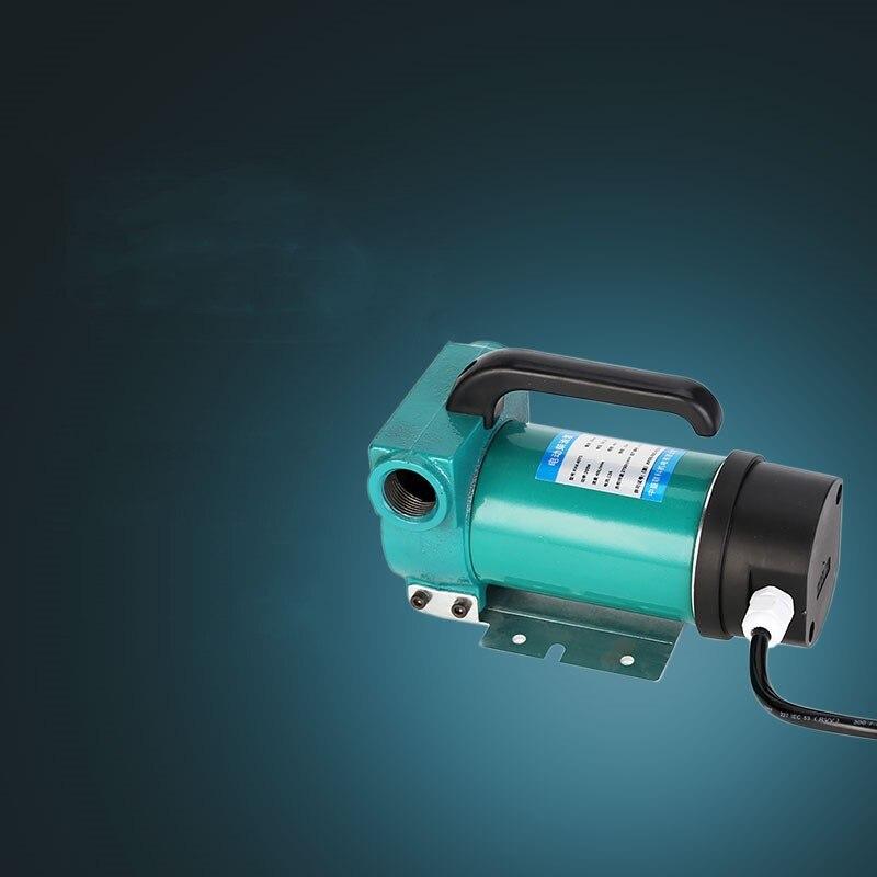 Mini pompe d'aspiration d'huile de transfert de carburant Diesel de pompe à huile de Transmission automatique électrique auto amorçante de cc 12V 24V 200W 60L/MIN - 3