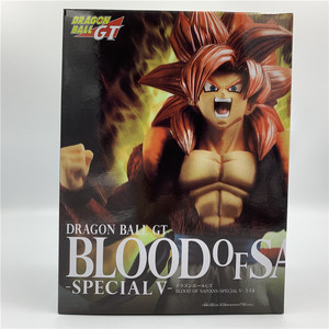 Image 5 - Dragon ball z goku gogeta gt sangue de saiyan quebrar super saiyan 4 ver de combate vermelho. Figura de ação dbz coleção pvc,