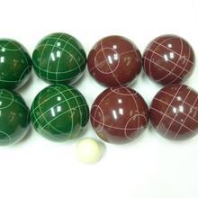 8 шаров/набор полимерный полиуретановый материал наземный шар лужайка Боулинг шар луга Боулинг шар