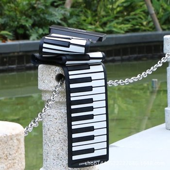 88 Keys For Hand Held Piano Thickening Professional Midi Soft Keyboard Folding Portable Electronic Organ With Pedal electronic organ 61 keys electronic portable silicone flexible hand roll up piano built in speaker midi out keyboard organ