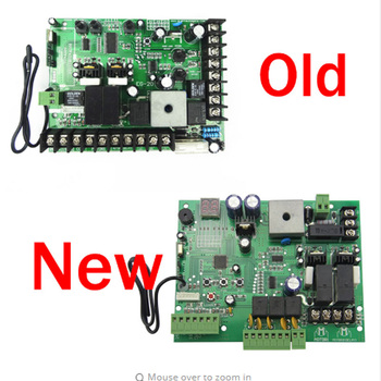 Universal PCB automatic double-arm swing door opener control board panel, motor 12V 24V DC PCB board (remote option)