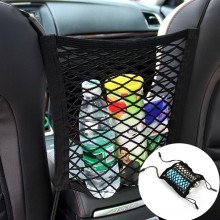 23X30cm Universal Elastic Mesh Net trunk Bag/Between Car organizer Seat Back Storage Mesh Net Bag Luggage Holder Pocket