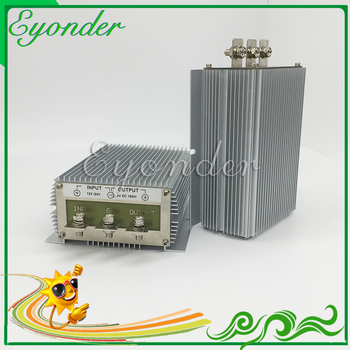Input 10v 11v 12v 13.8v 14v 15v 16v dc to dc 600 watt 24v dc converter 25a 30a 720w step up boost power supply module image