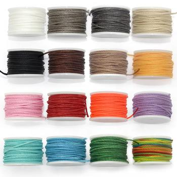 0.8mm Round Professional Leather Sewing Waxed Thread, Hand-Stitched Accessories Line, Sturdy Polyester for Sewing awl kit