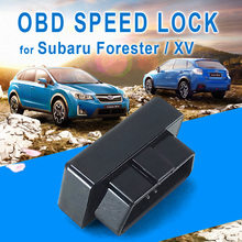 цена на For Subaru ester Outback XV Legacy Car OBD Speed Lock Canbus Unlock Flameout Car Safety Module