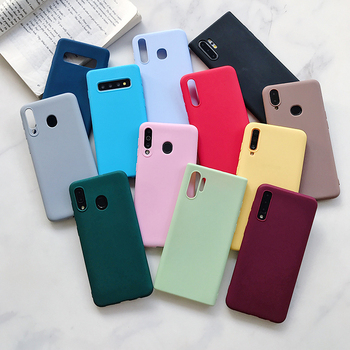 Phone Case For Samsung Galaxy A70 A50 A20E A80 A40 A30 A10 M40 Ultra Slim Soft Silicon Shockproof Full Back Cover Coque image
