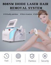 The latest portable permanent hair removal device 808 nm diode laser hair removal beauty device