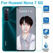 Para huawei nova 7 pro 7i 6 se protetor de tela do telefone nova 5 5i pro 5t 5z vidro temperado película protetora smartphone no vidro