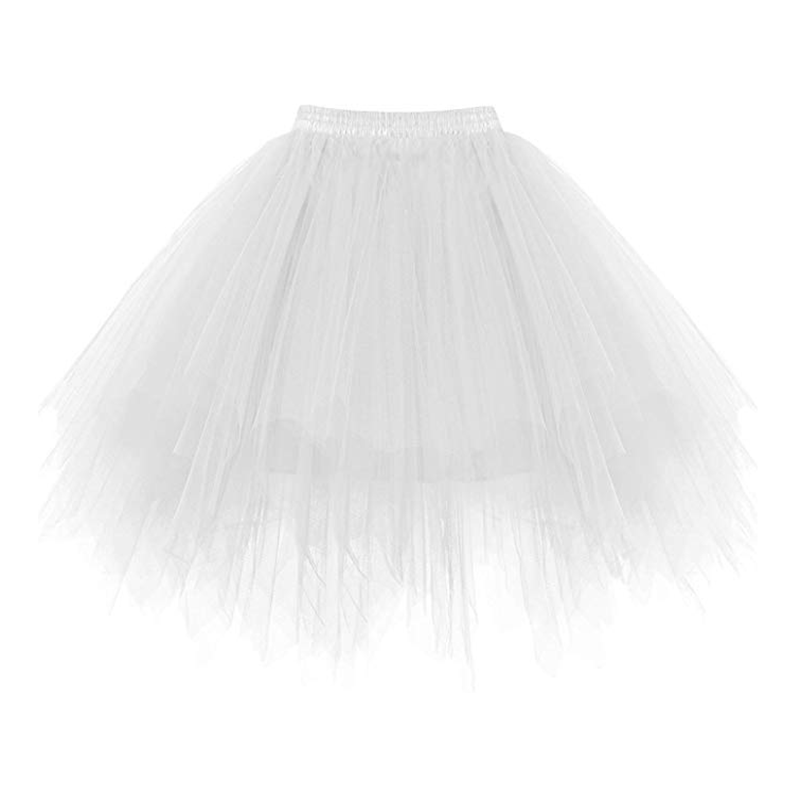 New Arrival Colors Short Tutu Petticoat Crinoline Soft Tulle Candy Colors Summer Adult Underskirt