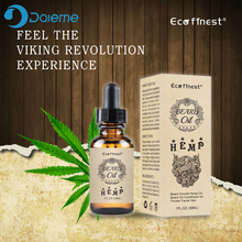 30ml 100% Natural Organic Beard Growth Oil Natural Hemp Beard CBD Essential Oil Anti-lossing Hair Serum Gentlemen Beard Care