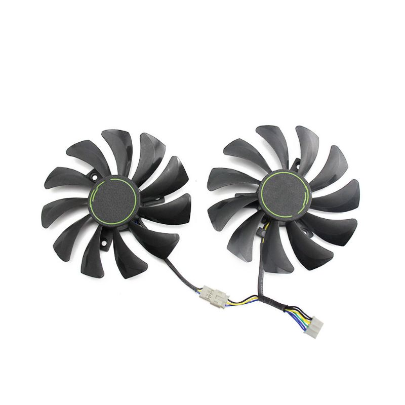 DC 12V 0.57A 85MM HA9010H12F-Z 4Pin Cooler <font><b>Fan</b></font> Replacement For MSI <font><b>GTX</b></font> 1060 OC 6G <font><b>GTX</b></font> <font><b>960</b></font> Graphic Card Cooling <font><b>Fan</b></font> image