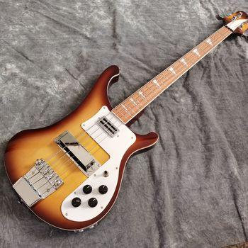 Gitara elektryczna gitara basowa Sunbu kolor jazz gitaar podstrunnica klonowa Wysokiej jakości 4 użądlenia gitara basowa Prawdziwe zdjęcie tanie i dobre opinie Maple Drewno olcha Strona główna-schooling Profesjonalna wydajność Beginner Unisex CN (pochodzenie)