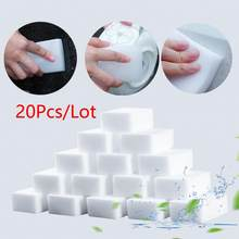 20 Pçs/lote Esponjas de Limpeza Espuma Esponja Mágica do Eliminador Da Melamina Multi-funcional Móveis De Limpeza Cleaner Para Cozinha Casa de Banho