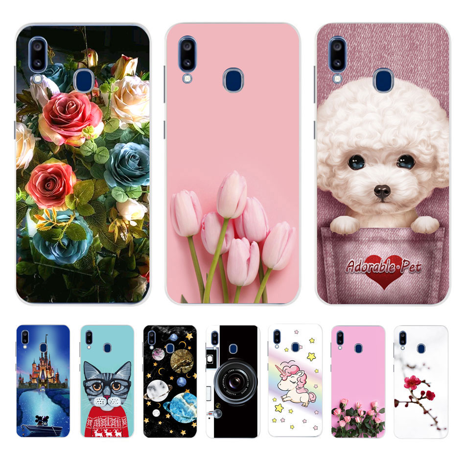 Case For <font><b>Samsung</b></font> <font><b>Galaxy</b></font> <font><b>A20</b></font> Case <font><b>Samsung</b></font> <font><b>A20</b></font> Back Cover For fundas <font><b>Samsung</b></font> <font><b>A20</b></font> A 20 2019 A205F A205 SM-A205F phone Soft Case image
