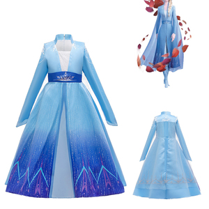 Gongzhuniuniu Children Dress Snow Girls Dress Princess Costume Kids Party Wear Dress Size 4-12Years