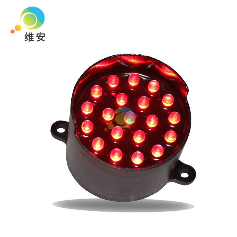 DC12V High Brightness Red Led 52mm Arrow Board Flashing Replacement Parts LED Cluster
