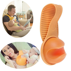 Hand Free Baby Bottle Holder Freely Rotatable Strap Leash Feeding Fixing Accessories PP Baby Feeding Bottle Holder For Mummy Dad