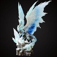 Monster Hunter Figure Velkhana Dragon Figure Monster Hunter World Iceborne