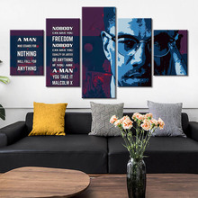 5 Piece Canvas Paintings Home Decor HD Prints Famous Person Pictures Poster Wall Art