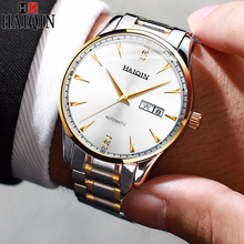 HAIQIN 2019 new mens watches automatic watch men mechanical for Fashion business Male Wristwatch relogio masculino