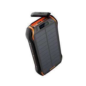 Image 1 - Powerbank na energię słoneczną QI 3.0 wodoodporna bateria Powerbank Poverbank przenośna ładowarka LED LCD do zasilania 26800mah Sola