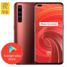 Originale Realme X50 Pro 5G Del Cellulare 6.44 pollici 8GB 256GB Snapdragon 865 5G Octa Core Android 10 SA/NSA 5G CallPhone