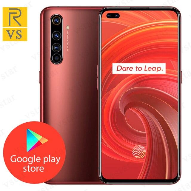מקורי Realme X50 פרו 5G MobilePhone 6.44 אינץ 8GB 256GB Snapdragon 865 5G אוקטה Core אנדרואיד 10 SA/NSA 5G CallPhone