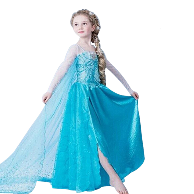 2021 Dress For Girl Birthday Party Cosplay Costume Fancy Children Dress Up Vestido Girls Clothes 6