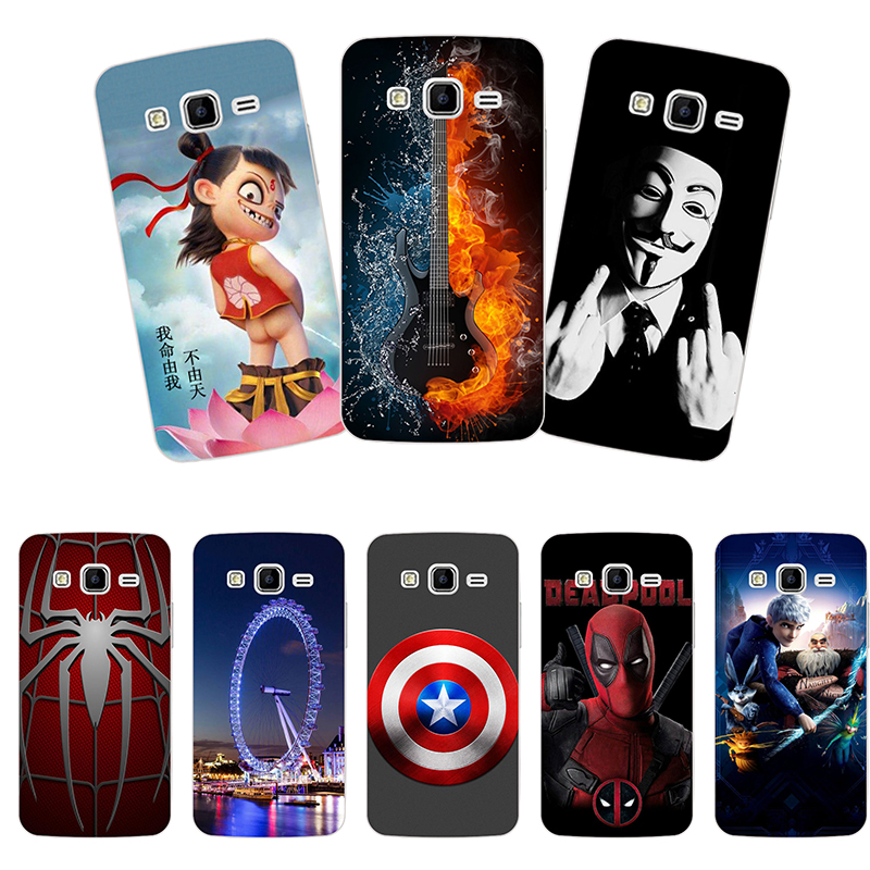 For <font><b>Samsung</b></font> <font><b>Galaxy</b></font> Core Prime G360 sm-g361h sm-g361f G360H G3606 G3608 <font><b>Case</b></font> Special <font><b>Hard</b></font> <font><b>PC</b></font> Cover Shell Vogue Design Cover Print image