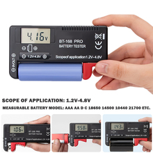 Battery Capacity Tester -168 PRO High- Lithium Battery Capacity Tester Digital Display Battery Measuring Instrument