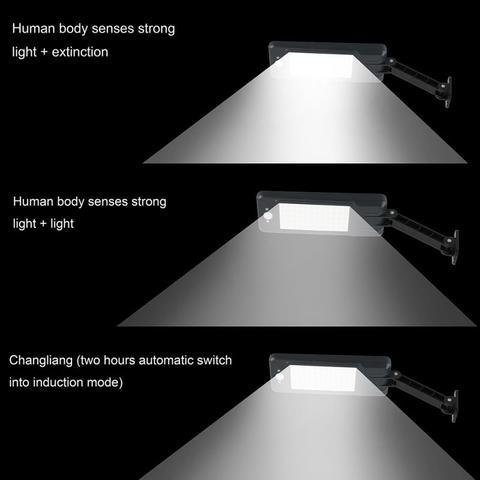 luz de rua pir sensor movimento