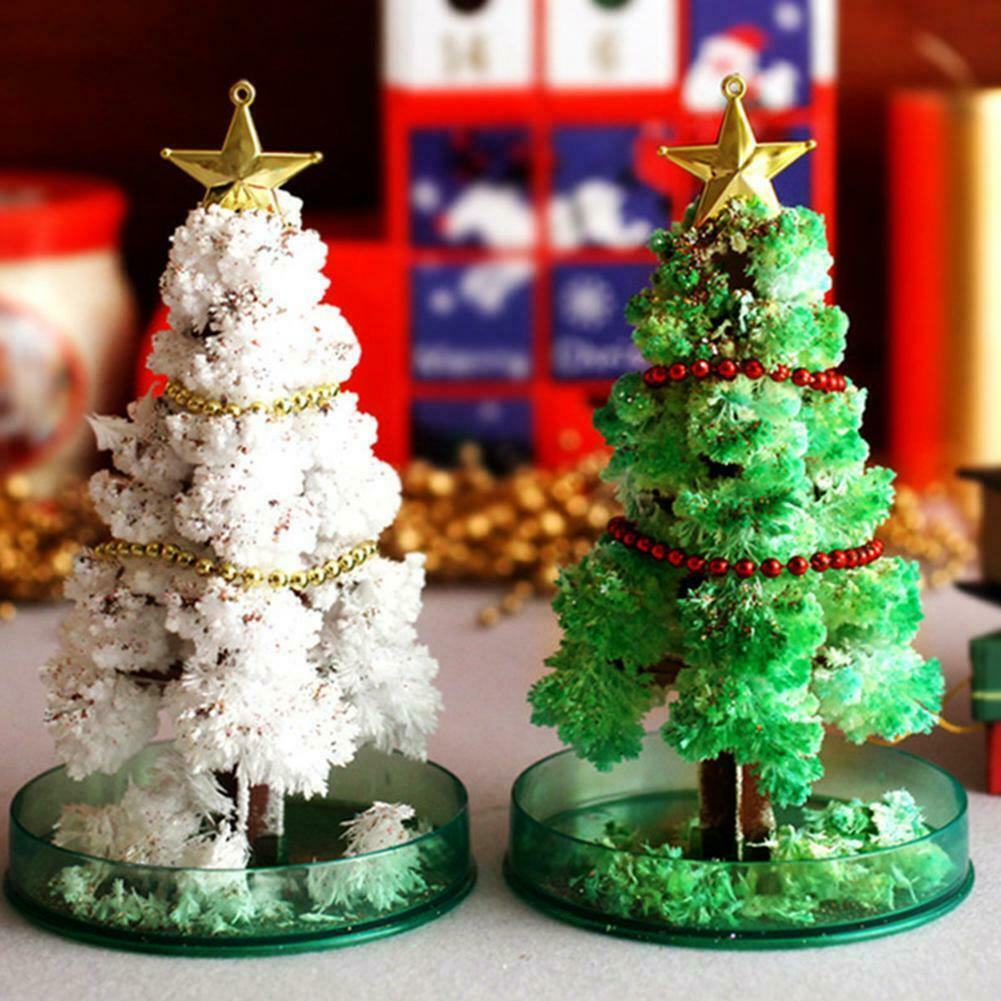 Amazing Magical Crystal Growing Mystical Trees Flowering Paper Tree for Children Birthday Christmas Tree Toys ASD88 Board Games    - AliExpress