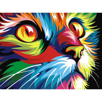 DIY 5D Diamond Painting Animal Lion Cat Cross Stitch Kit Full Drill Embroidery Mosaic Art Picture of Rhinestones Home Decor Gift 23