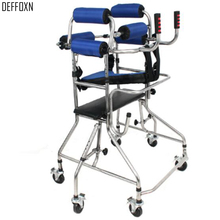 4 или 6 колес ходьба помощь из алюминиевого сплава для восстановления ходунков для взрослых людей с инвалидностью, для пожилых людей, ходьба, поддержка