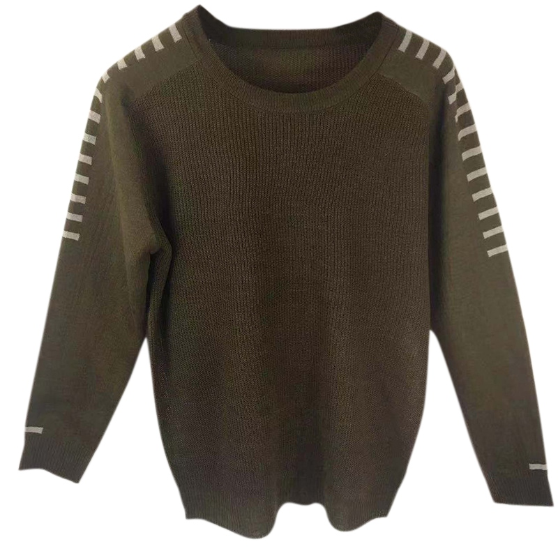 Autumn Winter Men'S Sweater Men'S O-neck Solid Color Casual Sweater Men's Slim Fit Knitted Pullovers