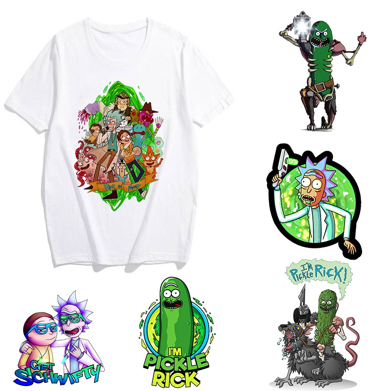 Showtly 2019 Men's Rick And Morty Funny Anime T-shirt Casual Short Sleeve O-Neck Homme Summer White T Shirt Swag Tshirt