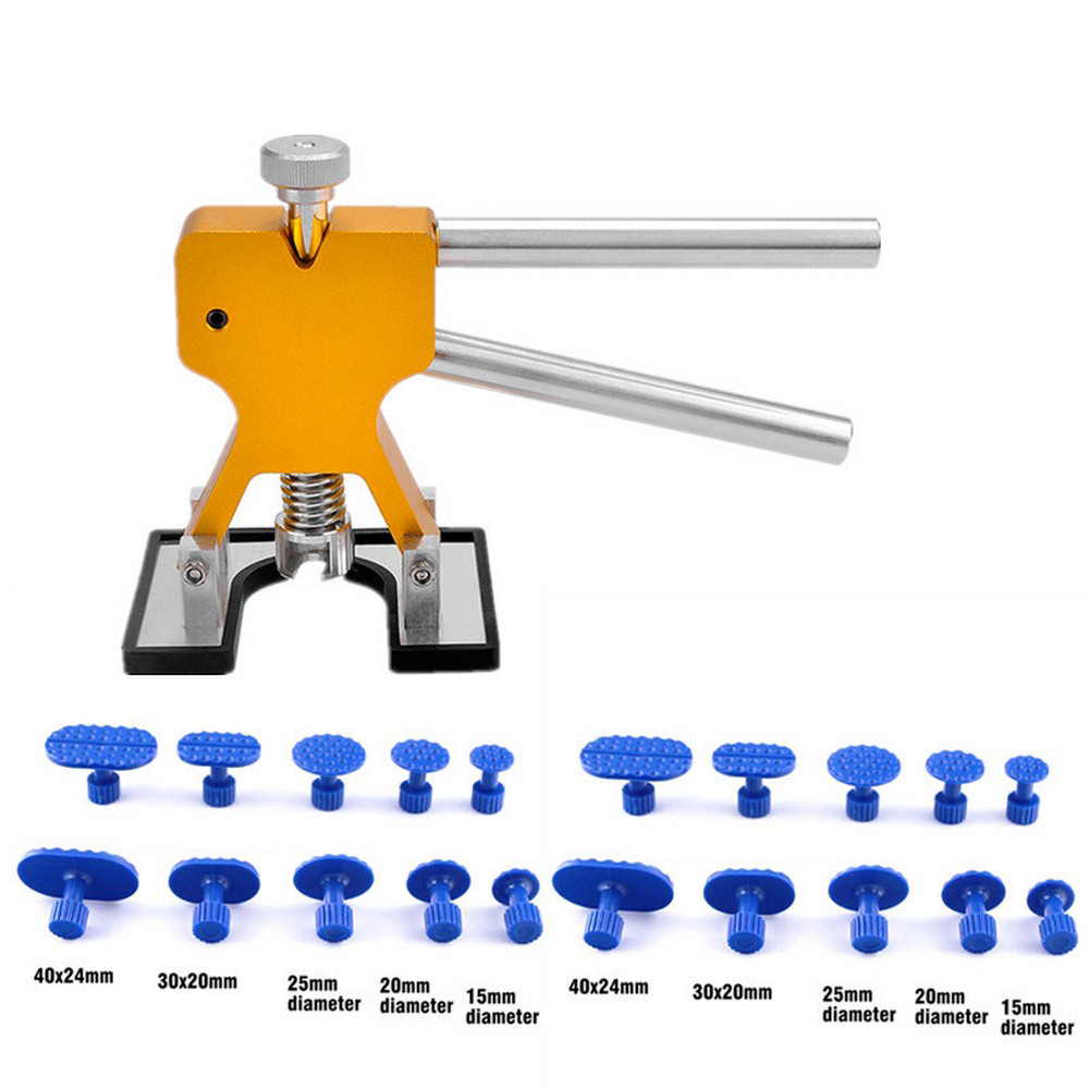 DIY Car Body Dent Repair Tools 20Pcs Strong Suction Cups Pull Out Hail Damage Dents Not Damage Paint Car Accessiones