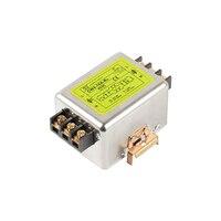 Filtro da fonte de alimentação do sinal do pulso do filtro do trilho do ruído 115v 230v emi anti-interferência purificação forte CW4-RD 10a 20a 30a