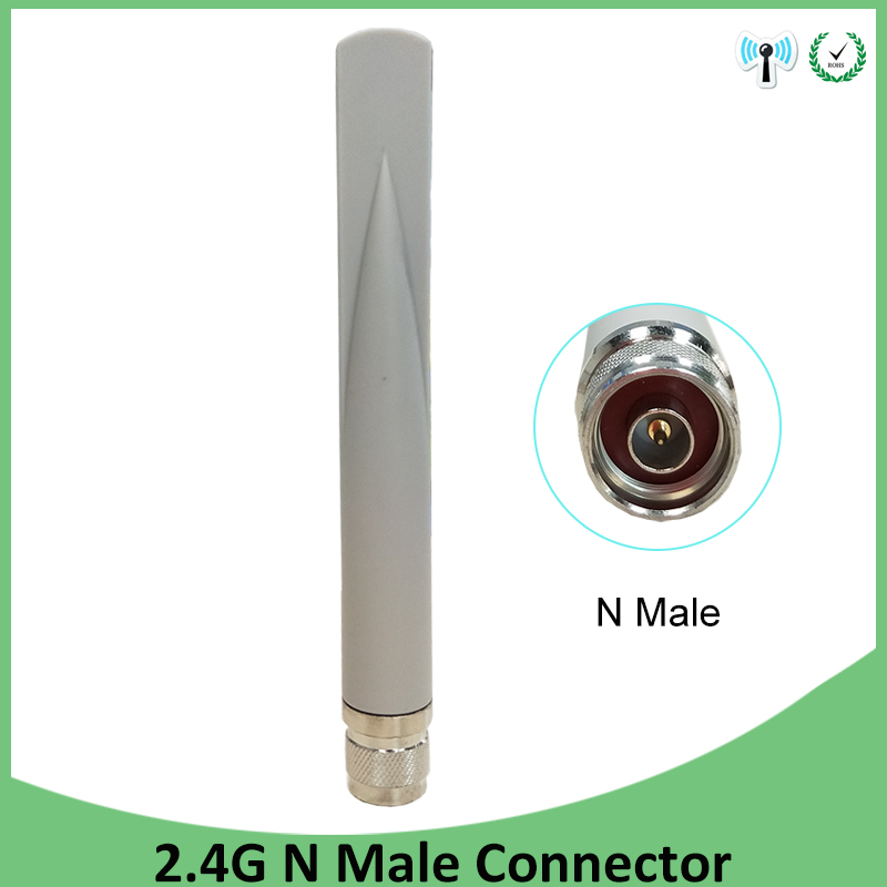 2.4GHz 5GHz 5.8Ghz Dual Band Wifi Antenna 5dBi N Male Connector 2.4Ghz 5G 5.8G Wi Fi Antena Aerial Wireless Router Antenne
