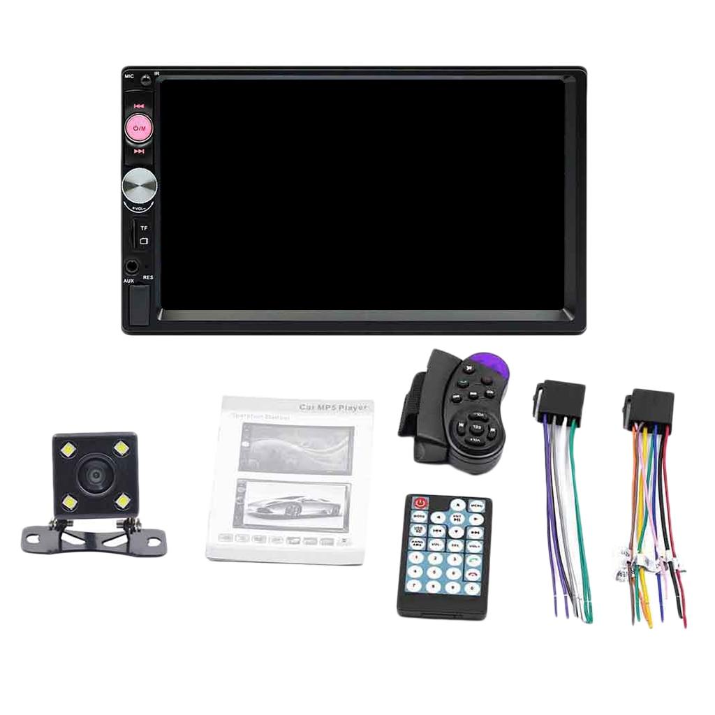Car Stereo Bluetooth Digital Handsfree Calls Car Radio Multimedia Player USB MP5 FM Receiver Universal With 7 Inch Screen
