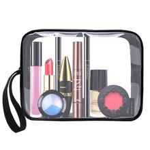 PVC Ladies Transparent Cosmetic Bag Cosmetic Storage Bag PVC Transparent Cosmetic Bag Travel Essential Cosmetic Storage Bag