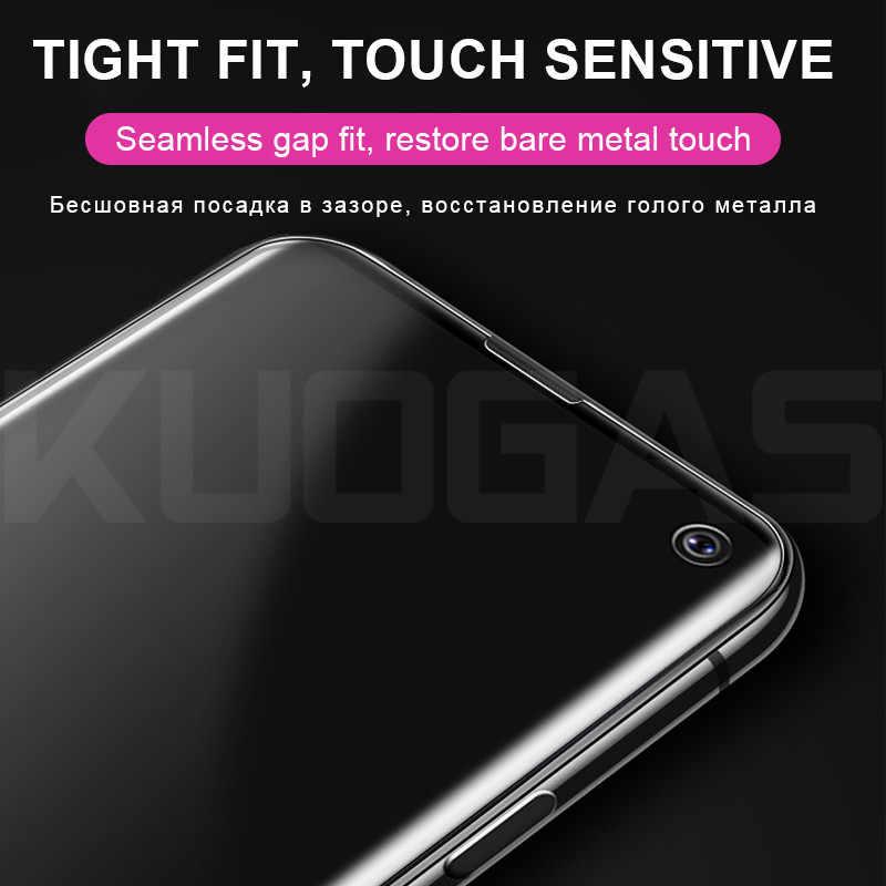 Volle UV Kleber Screen Protector Film Auf Die Für Samsung Galaxy S8 S9 S10 Plus S10e Gehärtetem Glas Hinweis 8 9 schutzhülle Glas + Werkzeug