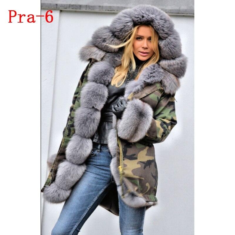 veste épais manteaux renard 7